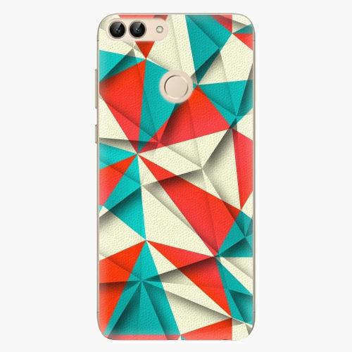 Silikonové pouzdro iSaprio - Origami Triangles na mobil Huawei P Smart