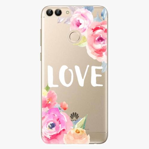 Silikonové pouzdro iSaprio - Love na mobil Huawei P Smart