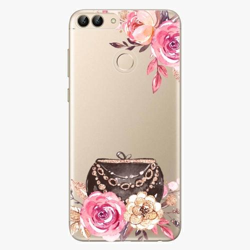 Silikonové pouzdro iSaprio - Handbag 01 na mobil Huawei P Smart