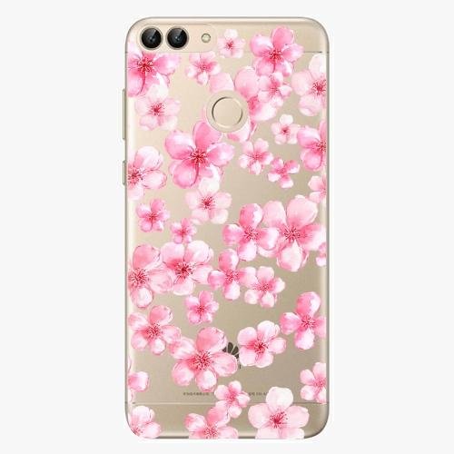 Silikonové pouzdro iSaprio - Flower Pattern 05 na mobil Huawei P Smart