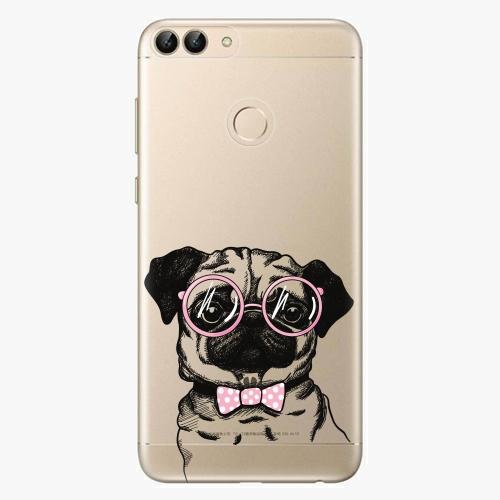 Silikonové pouzdro iSaprio - The Pug na mobil Huawei P Smart