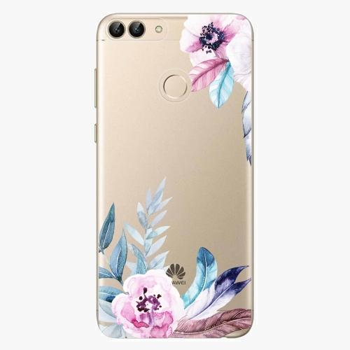 Silikonové pouzdro iSaprio - Flower Pattern 04 na mobil Huawei P Smart