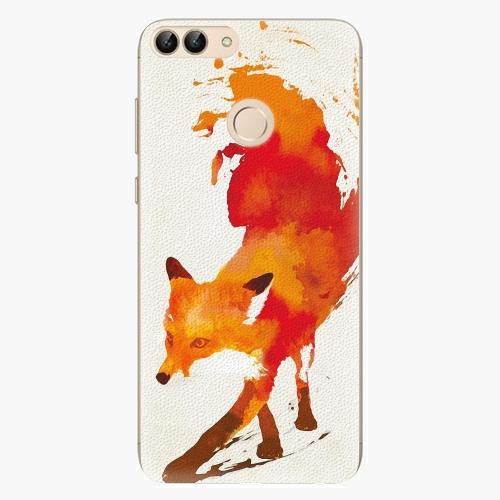 Silikonové pouzdro iSaprio - Fast Fox na mobil Huawei P Smart
