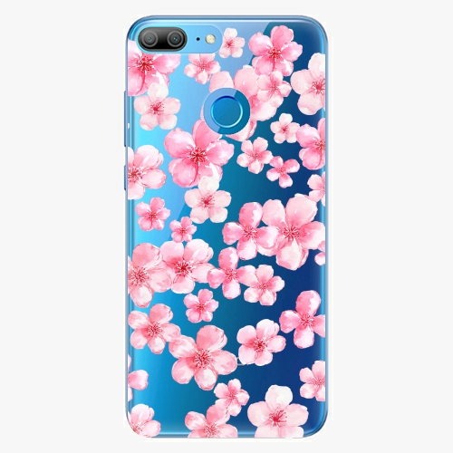 Silikonové pouzdro iSaprio - Flower Pattern 05 na mobil Honor 9 Lite