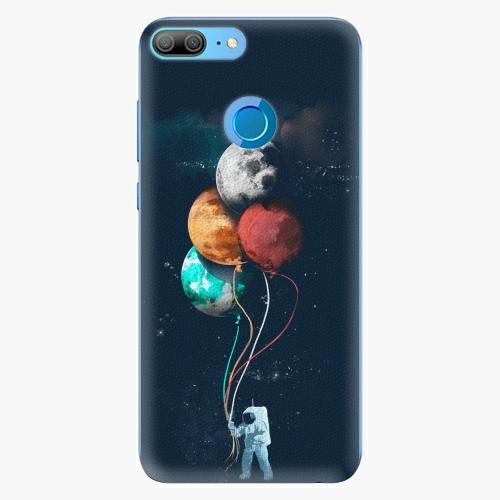 Silikonové pouzdro iSaprio - Balloons 02 na mobil Honor 9 Lite