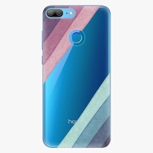Silikonové pouzdro iSaprio - Glitter Stripes 01 na mobil Honor 9 Lite
