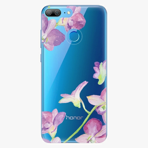 Silikonové pouzdro iSaprio - Purple Orchid na mobil Honor 9 Lite