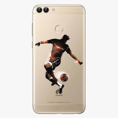 Silikonové pouzdro iSaprio - Fotball 01 na mobil Huawei P Smart