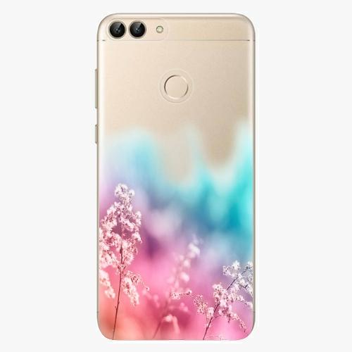 Silikonové pouzdro iSaprio - Rainbow Grass na mobil Huawei P Smart