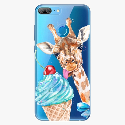 Silikonové pouzdro iSaprio - Love Ice Cream na mobil Honor 9 Lite