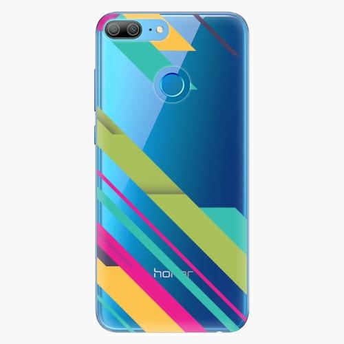 Silikonové pouzdro iSaprio - Color Stripes 03 na mobil Honor 9 Lite