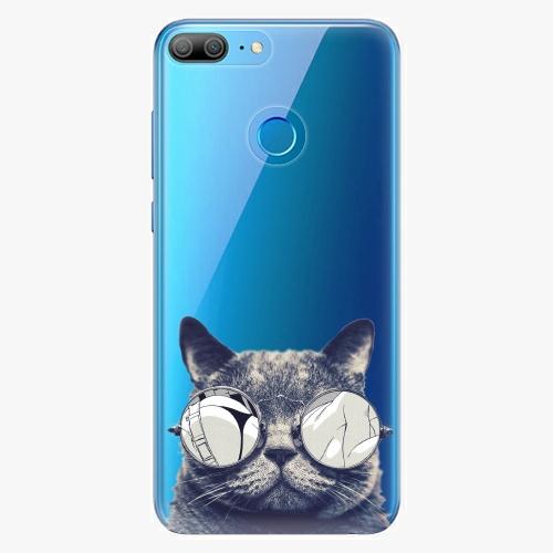 Silikonové pouzdro iSaprio - Crazy Cat 01 na mobil Honor 9 Lite