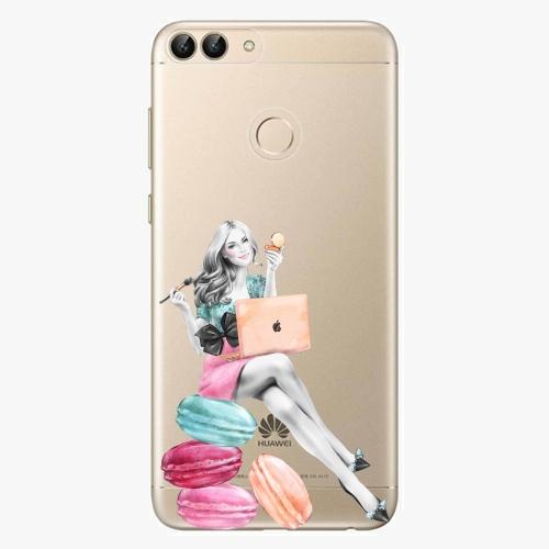 Silikonové pouzdro iSaprio - Girl Boss na mobil Huawei P Smart