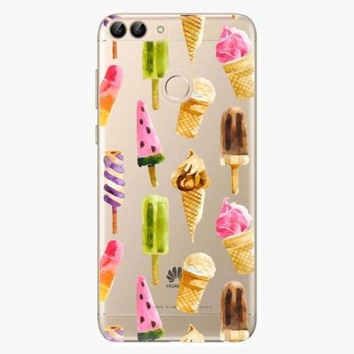 Silikonové pouzdro iSaprio - Ice Cream na mobil Huawei P Smart