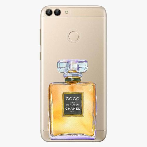Silikonové pouzdro iSaprio - Chanel Gold na mobil Huawei P Smart