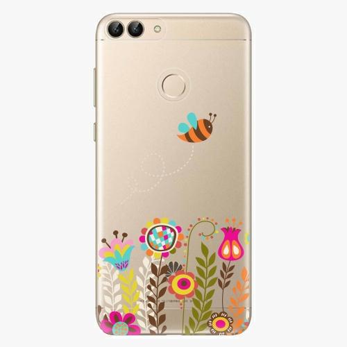 Silikonové pouzdro iSaprio - Bee 01 na mobil Huawei P Smart