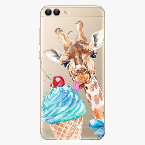 Silikonové pouzdro iSaprio - Love Ice Cream na mobil Huawei P Smart