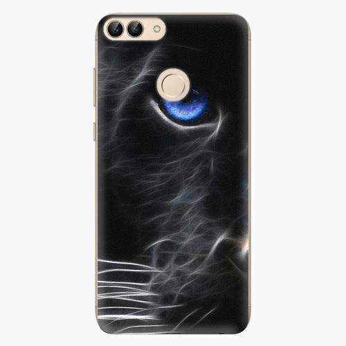Silikonové pouzdro iSaprio - Black Puma na mobil Huawei P Smart