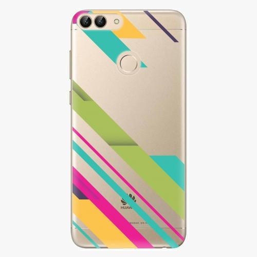 Silikonové pouzdro iSaprio - Color Stripes 03 na mobil Huawei P Smart