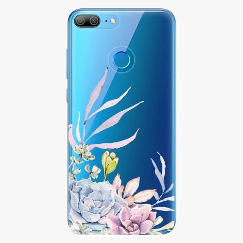 Silikonové pouzdro iSaprio - Succulent 01 na mobil Honor 9 Lite