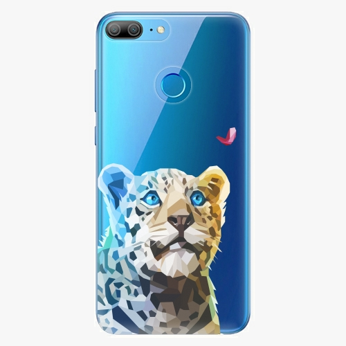 Silikonové pouzdro iSaprio - Leopard With Butterfly na mobil Honor 9 Lite