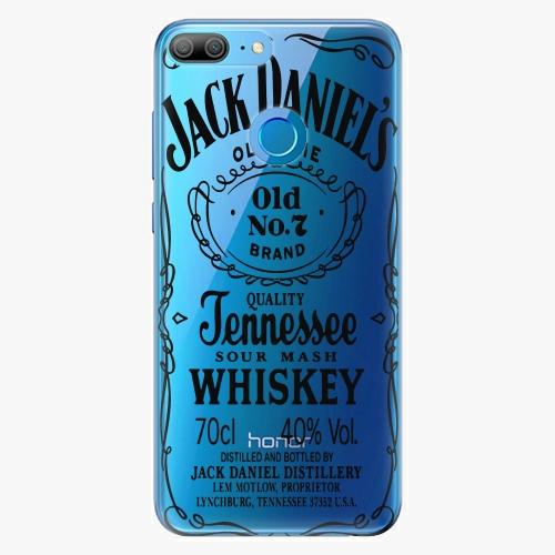 Silikonové pouzdro iSaprio - Transparent Black Jack na mobil Honor 9 Lite