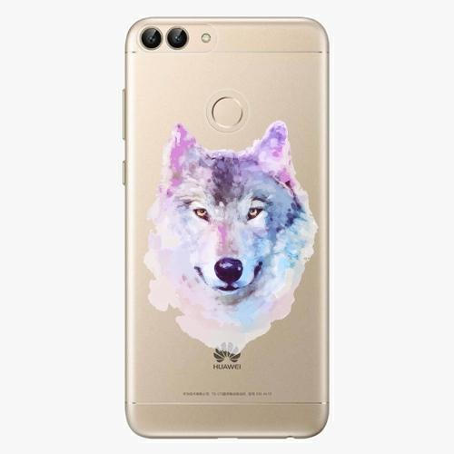Silikonové pouzdro iSaprio - Wolf 01 na mobil Huawei P Smart