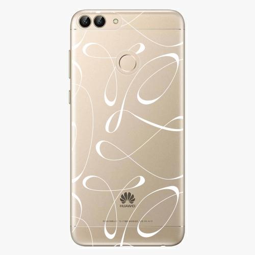 Silikonové pouzdro iSaprio - Fancy white na mobil Huawei P Smart