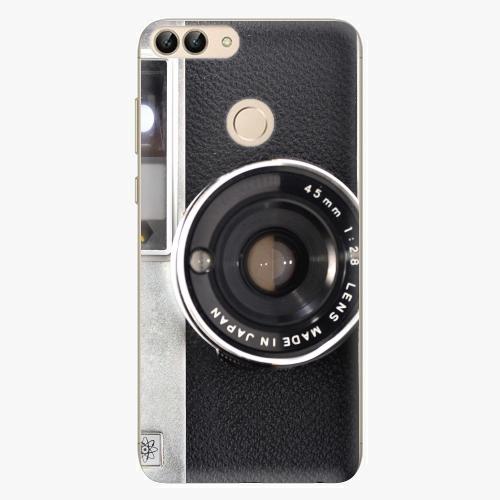 Silikonové pouzdro iSaprio - Vintage Camera 01 na mobil Huawei P Smart