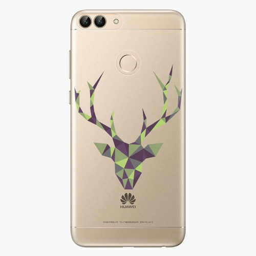 Silikonové pouzdro iSaprio - Deer Green na mobil Huawei P Smart