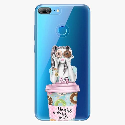 Silikonové pouzdro iSaprio - Donut Worry na mobil Honor 9 Lite