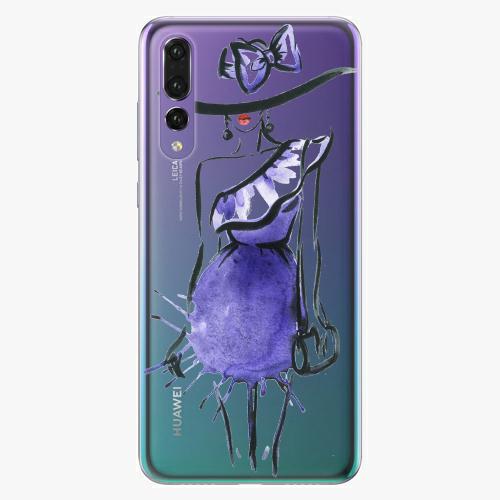 Silikonové pouzdro iSaprio - Fashion 02 na mobil Huawei P20 Pro
