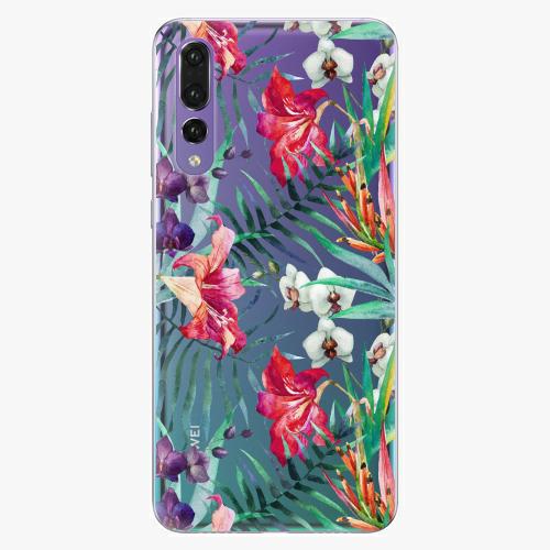 Silikonové pouzdro iSaprio - Flower Pattern 03 na mobil Huawei P20 Pro