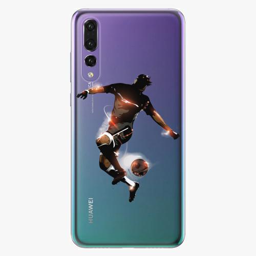 Silikonové pouzdro iSaprio - Fotball 01 na mobil Huawei P20 Pro