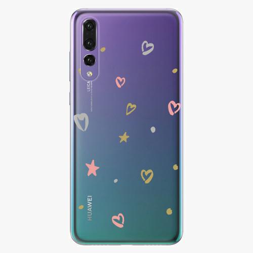 Silikonové pouzdro iSaprio - Lovely Pattern na mobil Huawei P20 Pro