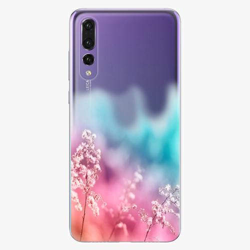 Silikonové pouzdro iSaprio - Rainbow Grass na mobil Huawei P20 Pro
