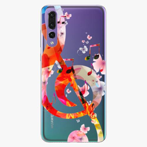 Silikonové pouzdro iSaprio - Music 01 na mobil Huawei P20 Pro