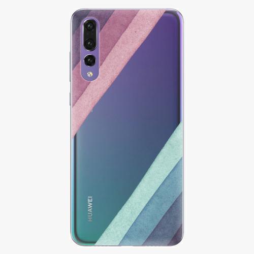 Silikonové pouzdro iSaprio - Glitter Stripes 01 na mobil Huawei P20 Pro