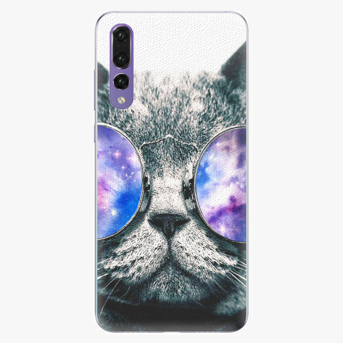 Silikonové pouzdro iSaprio - Galaxy Cat na mobil Huawei P20 Pro