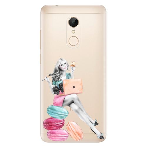 Silikonové pouzdro iSaprio - Girl Boss na mobil Xiaomi Redmi 5