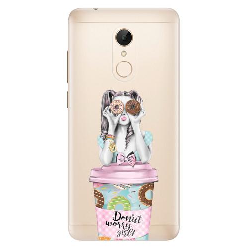 Silikonové pouzdro iSaprio - Donut Worry na mobil Xiaomi Redmi 5