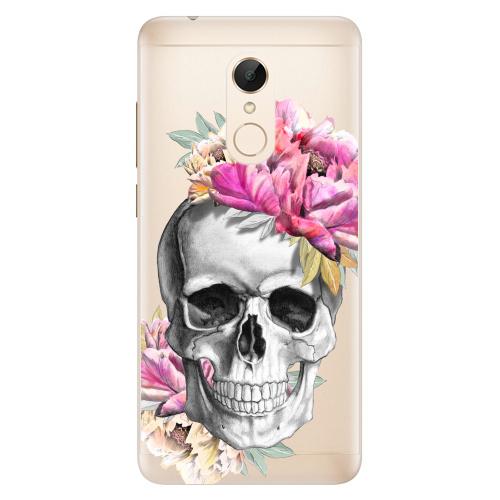 Silikonové pouzdro iSaprio - Pretty Skull na mobil Xiaomi Redmi 5