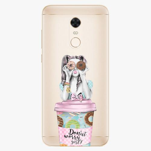 Silikonové pouzdro iSaprio - Donut Worry na mobil Xiaomi Redmi 5 Plus