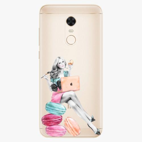 Silikonové pouzdro iSaprio - Girl Boss na mobil Xiaomi Redmi 5 Plus