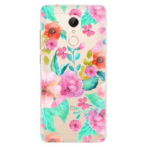 Silikonové pouzdro iSaprio - Flower Pattern 01 na mobil Xiaomi Redmi 5