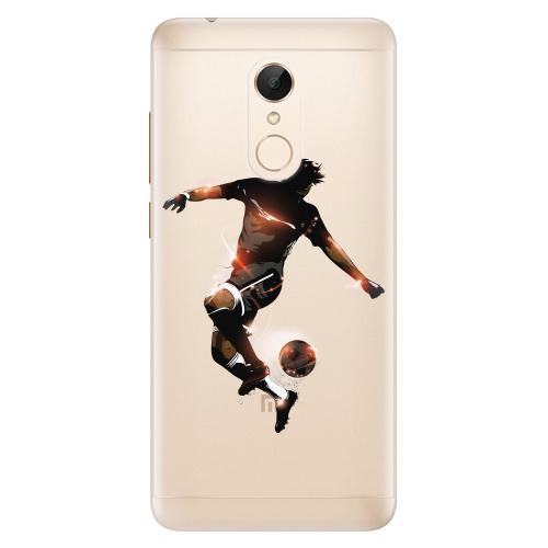 Silikonové pouzdro iSaprio - Fotball 01 na mobil Xiaomi Redmi 5