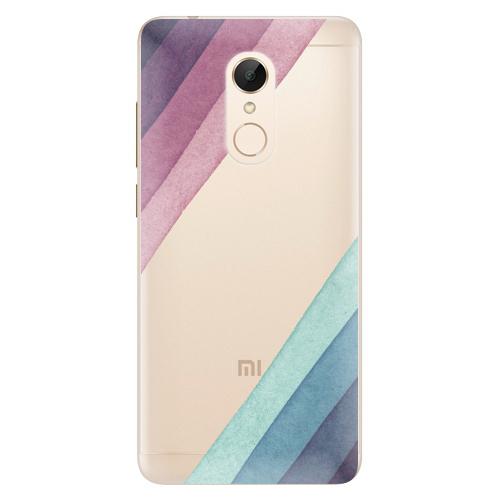 Silikonové pouzdro iSaprio - Glitter Stripes 01 na mobil Xiaomi Redmi 5