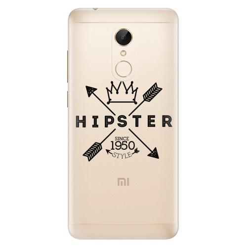 Silikonové pouzdro iSaprio - Hipster Style 02 na mobil Xiaomi Redmi 5