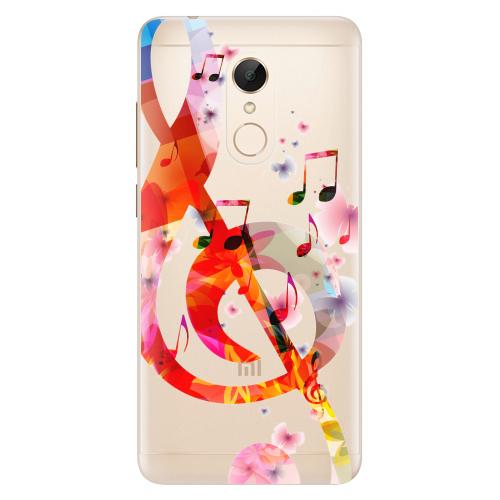 Silikonové pouzdro iSaprio - Music 01 na mobil Xiaomi Redmi 5