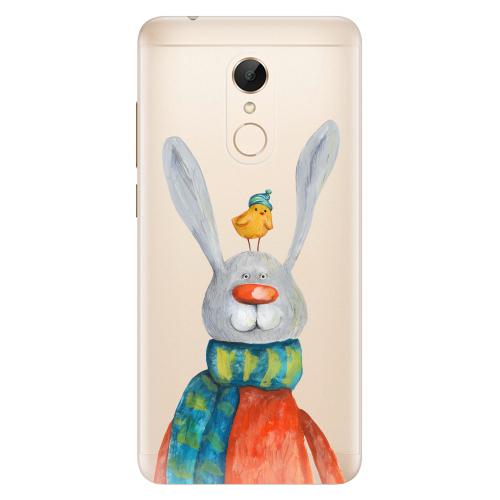 Silikonové pouzdro iSaprio - Rabbit And Bird na mobil Xiaomi Redmi 5